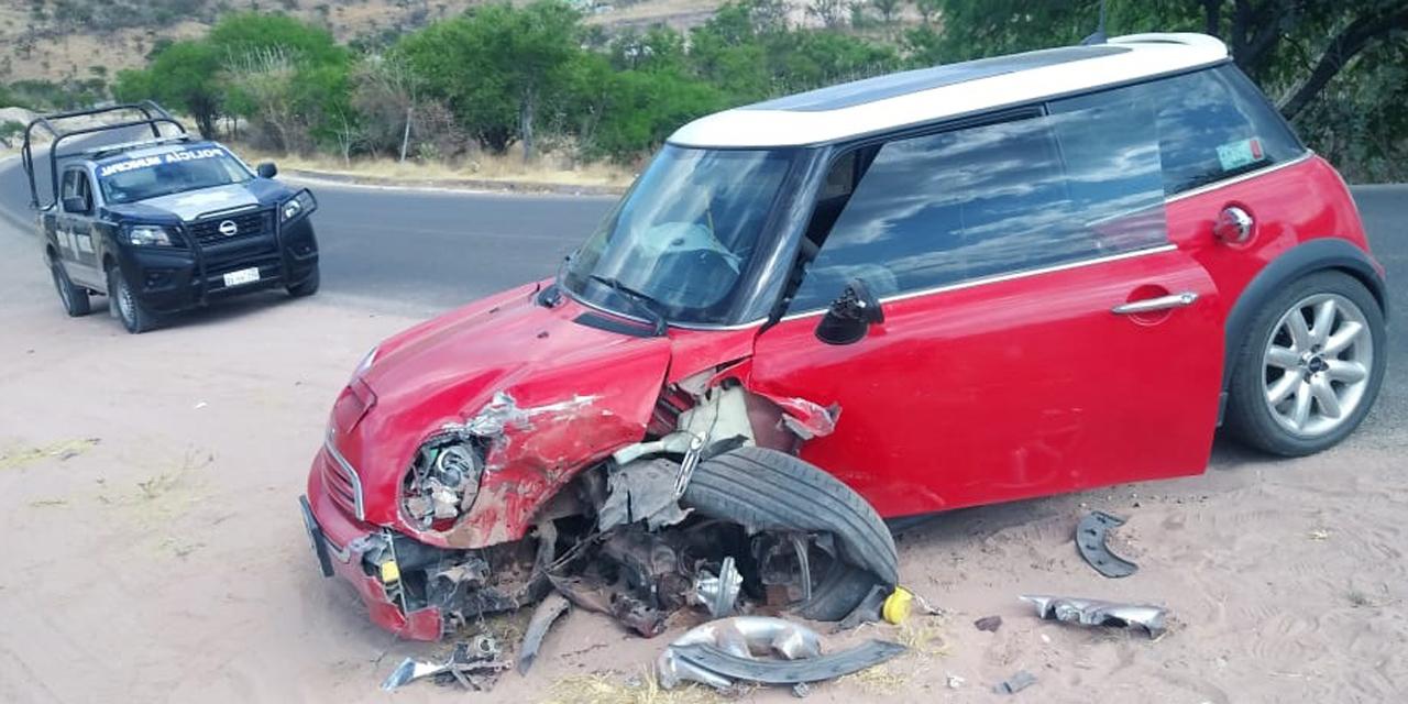Fuerte accidente en la carretera a Tehuacán | El Imparcial de Oaxaca