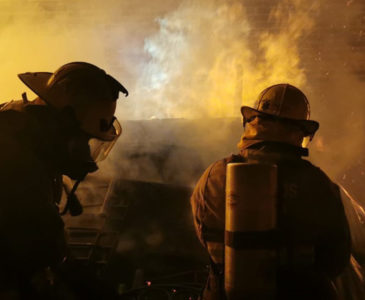 Se incendia bodega en San Raymundo Jalpan
