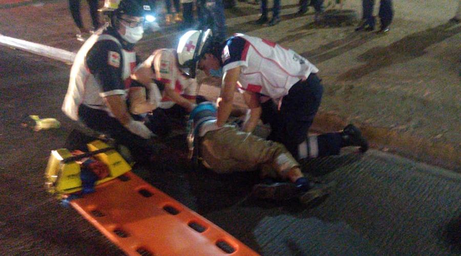 Lo atropellan en el Periférico; conductor huye | El Imparcial de Oaxaca