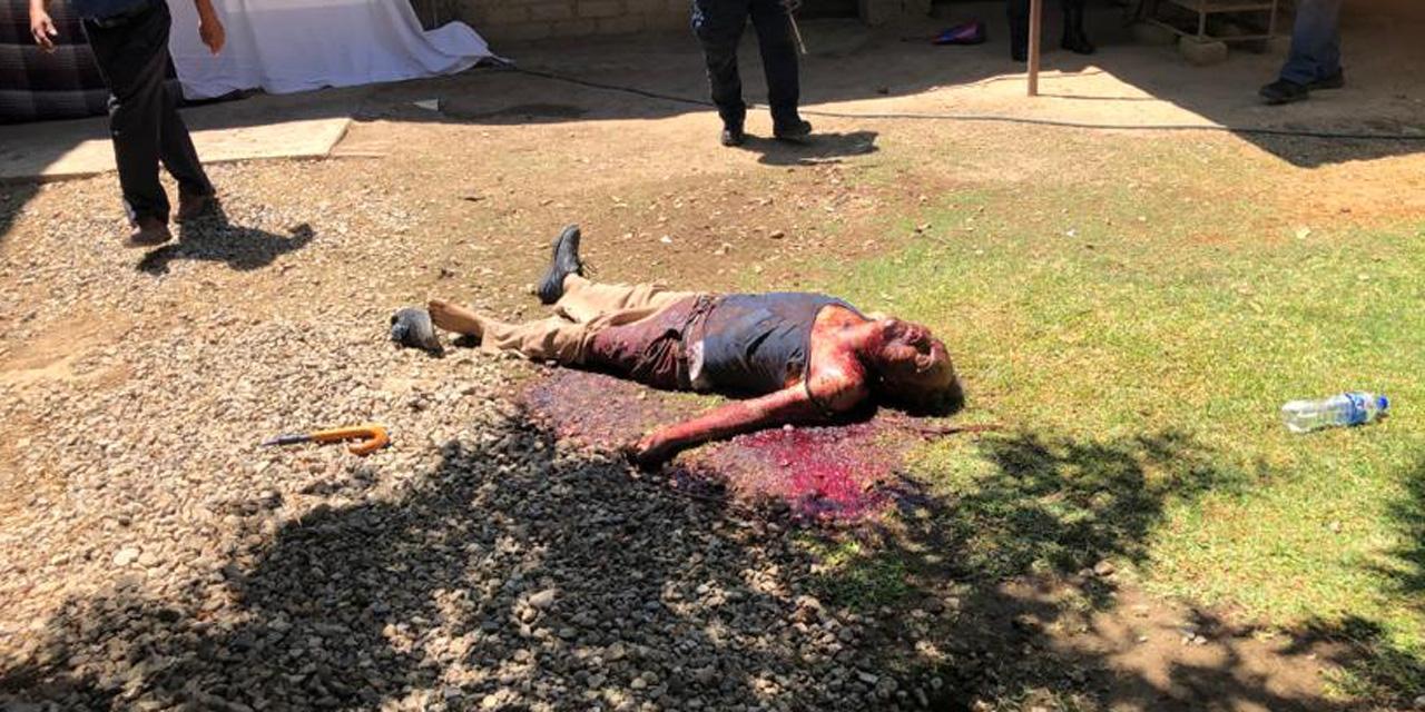Acusado de parricidio en Santo Domingo Tomaltepec | El Imparcial de Oaxaca