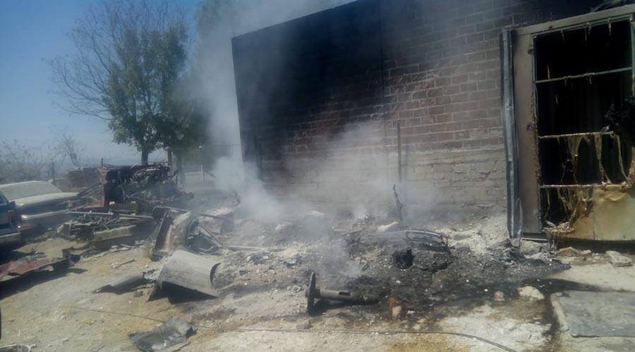 Fuego arrasa con un deshuesadero   El Imparcial de Oaxaca