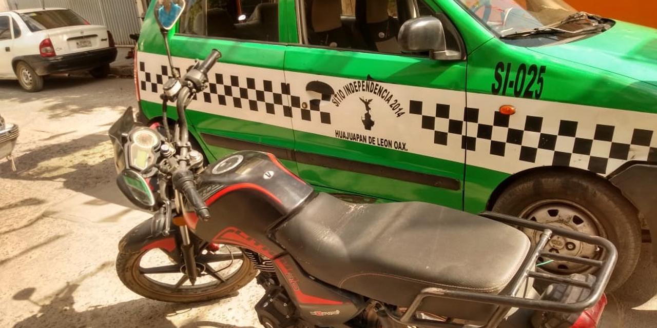 Colisionan auto y motocicleta | El Imparcial de Oaxaca