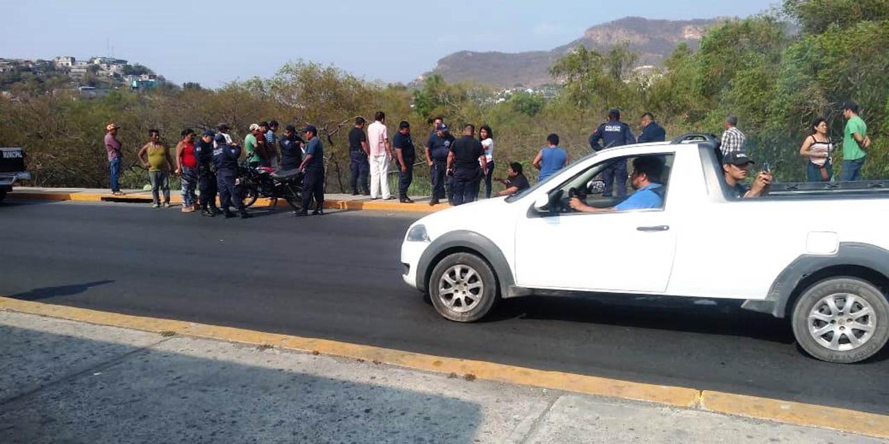 Encontronazo entre dos motociclistas | El Imparcial de Oaxaca