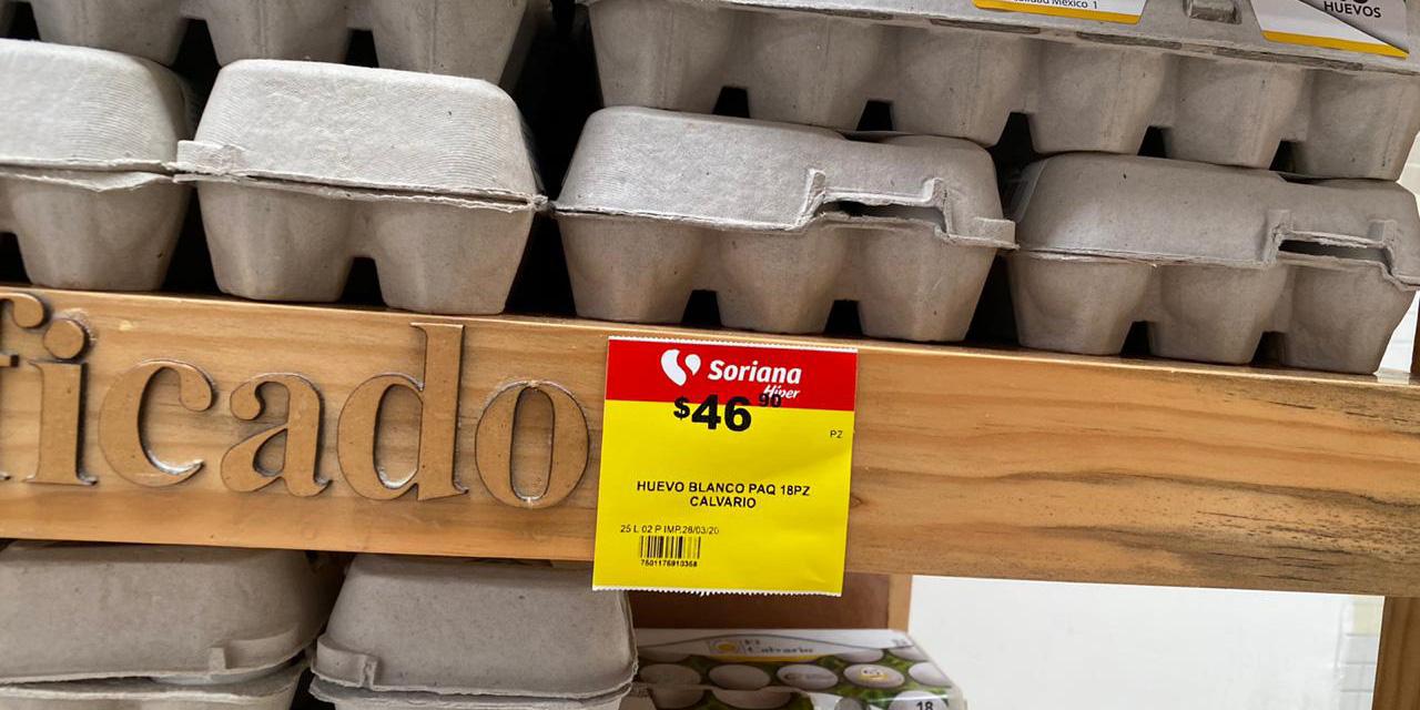 Limitan venta de productos de la canasta básica en Oaxaca