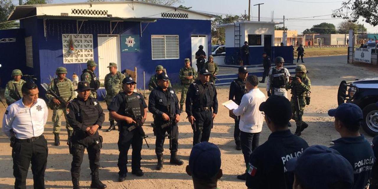 La SSPO asume control de la Policía Municipal de Loma Bonita | El Imparcial de Oaxaca