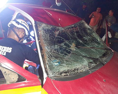 Taxi impacta equino, hay cuatro lesionados | El Imparcial de Oaxaca
