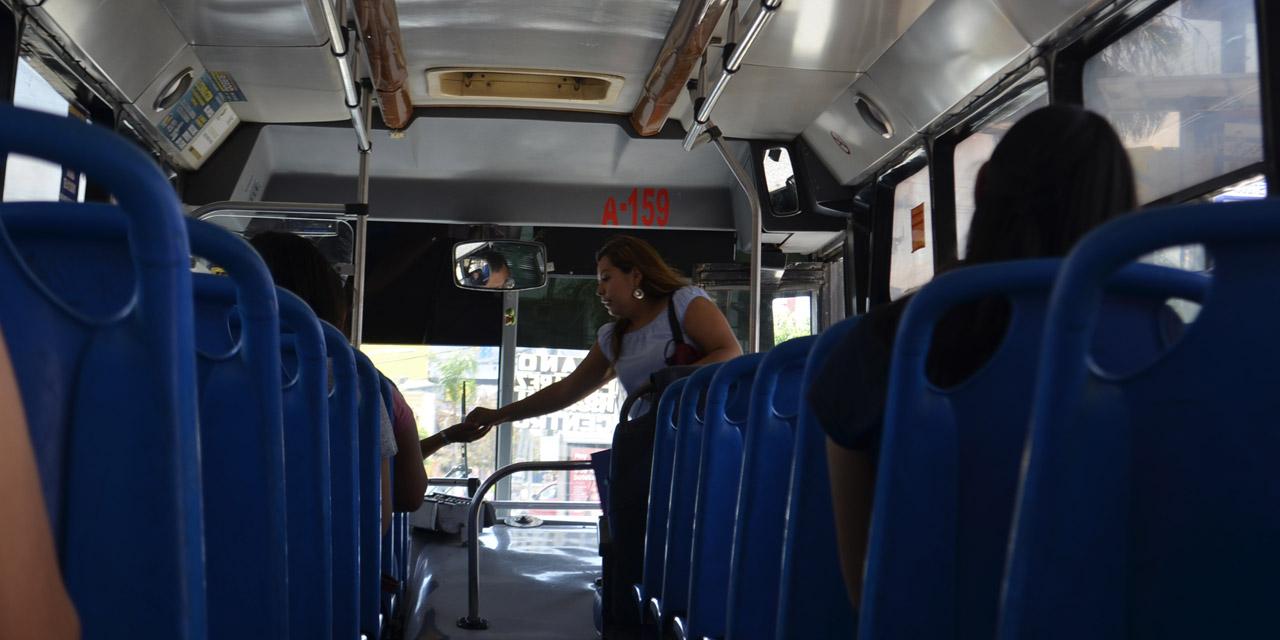 Ignoran medidas de  prevención en transporte público de Oaxaca | El Imparcial de Oaxaca