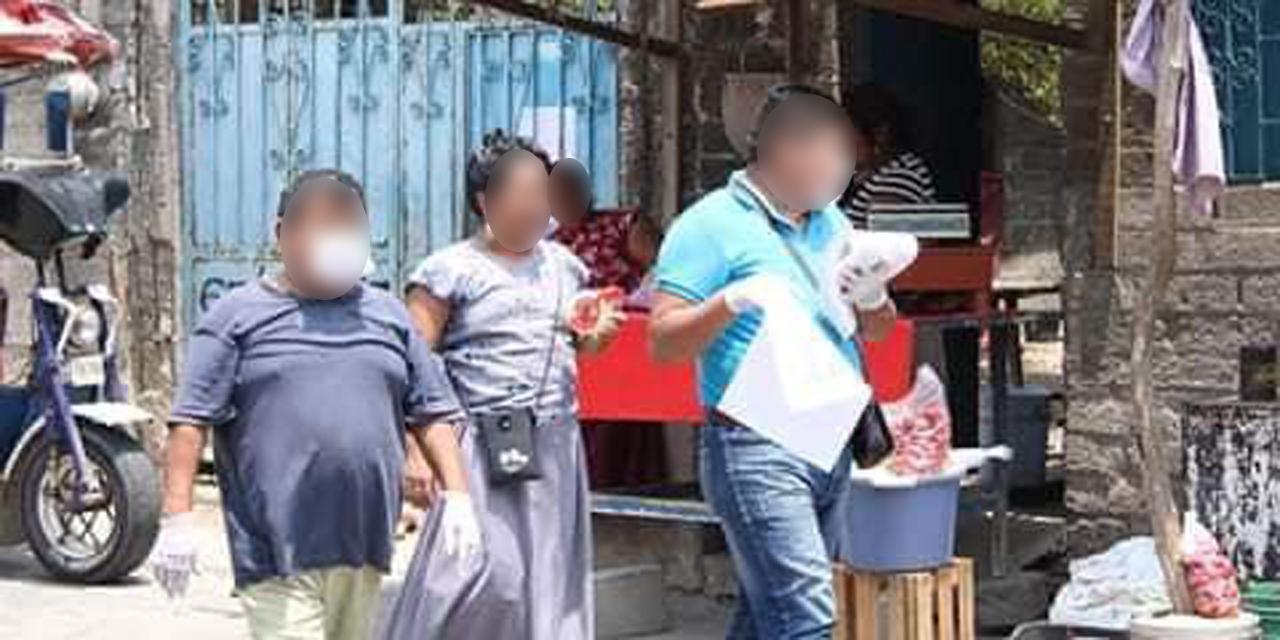 Muxes realizan una campaña de prevención en San Blas Atempa | El Imparcial de Oaxaca