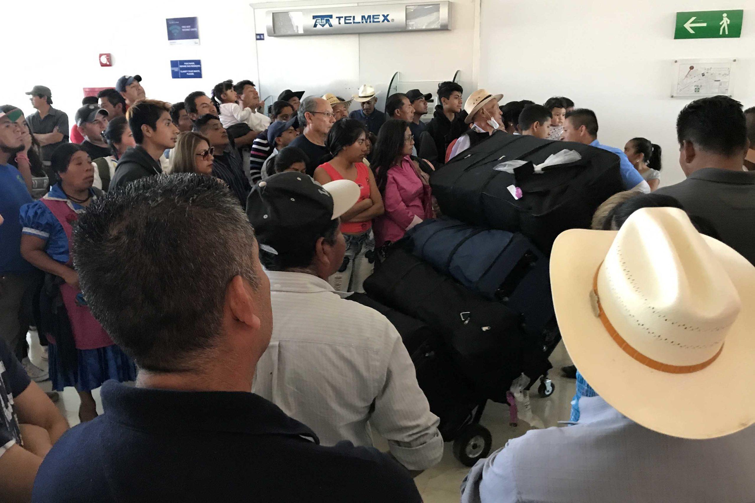 Deporta EU a 4 mil 500  migrantes oaxaqueños en plena contingencia | El Imparcial de Oaxaca