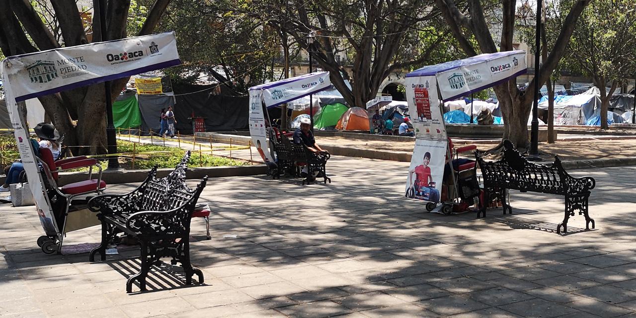 No podemos sobrevivir con una despensa: Boleros del centro | El Imparcial de Oaxaca