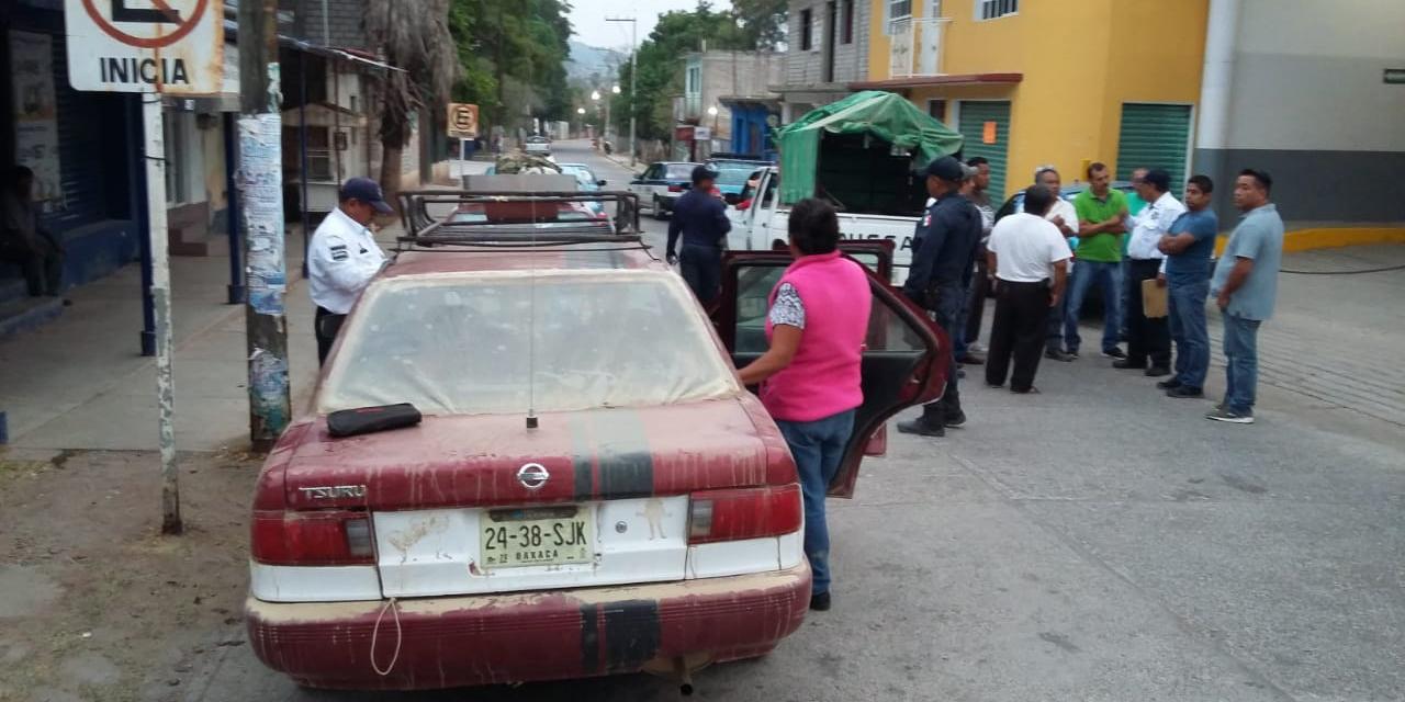 Invasión de rutas del transporte público en Cuicatlán | El Imparcial de Oaxaca