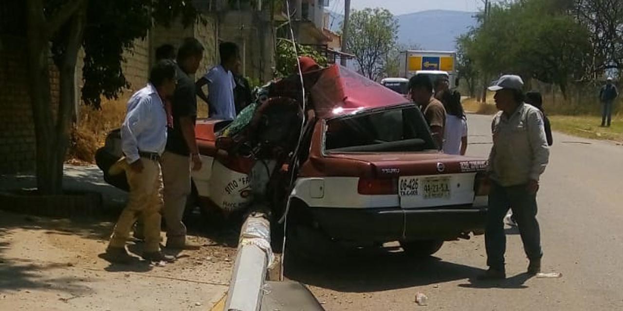Muere prensado en accidente en Zaachila   El Imparcial de Oaxaca