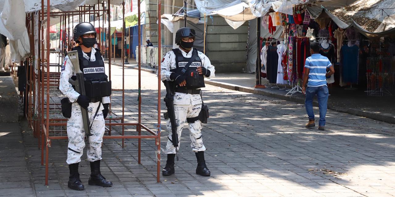 Guardia Nacional se suma a los operativos de contingencia | El Imparcial de Oaxaca