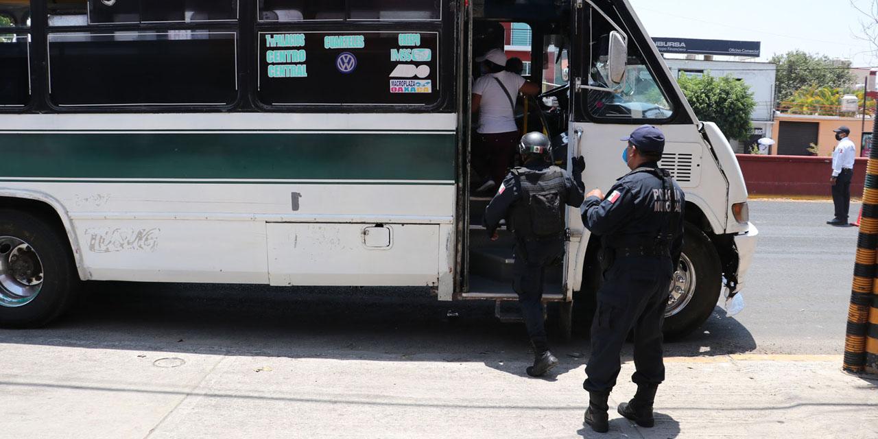 Suspenden 14 rutas de transporte urbano por pandemia en Oaxaca | El Imparcial de Oaxaca