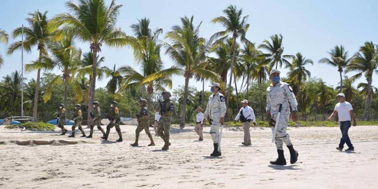Vigila Guardia Nacional las playas de Oaxaca | El Imparcial de Oaxaca