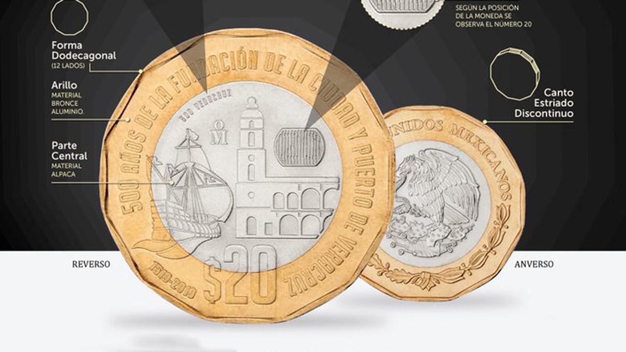Banxico pone en circulación nueva moneda de 20 pesos | El Imparcial de Oaxaca