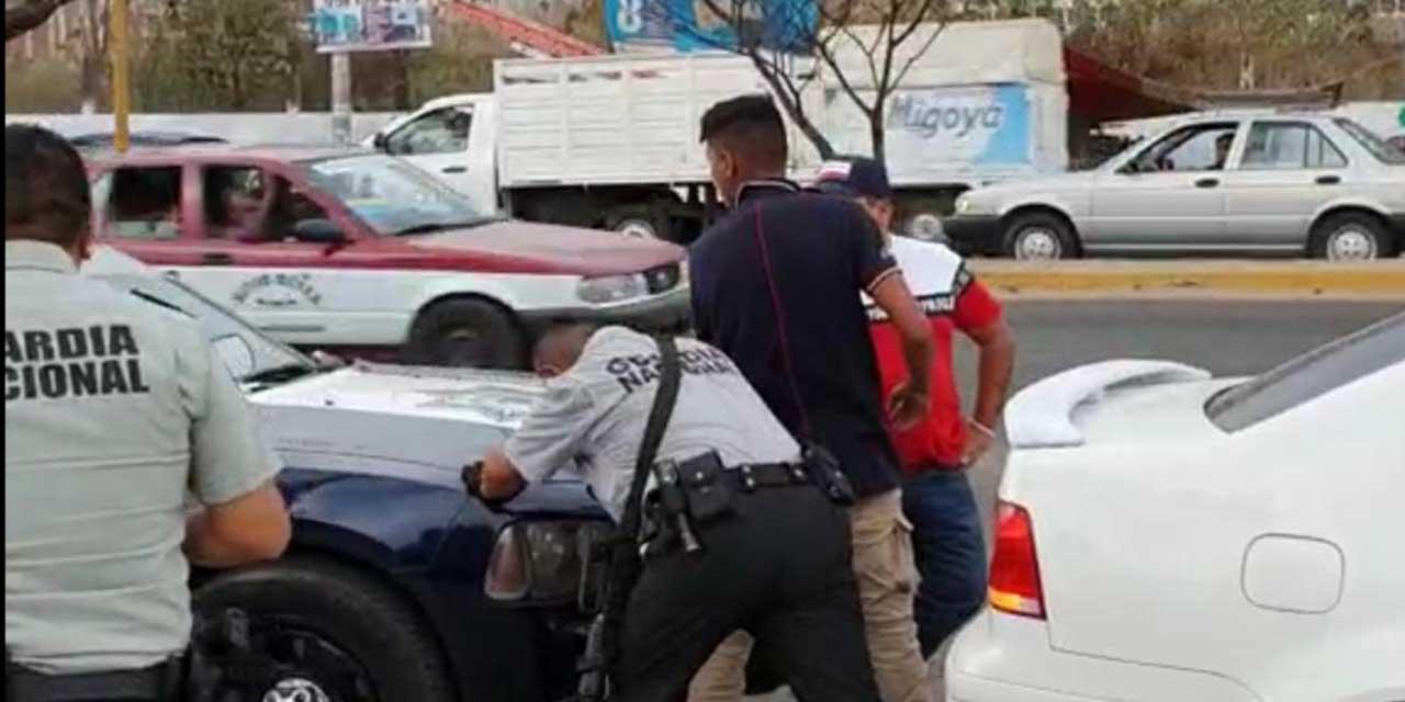 Guardia Nacional detiene a dos por posesión de mariguana en Brenamiel | El Imparcial de Oaxaca