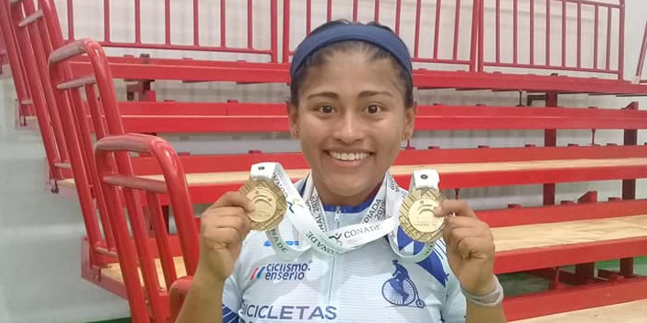 Gilda Andrea, la ciclista paralímpica oaxaqueña más avanzada | El Imparcial de Oaxaca