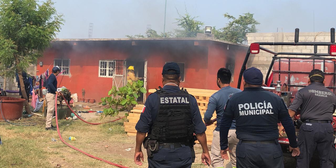 ¡Se incendia casa en Juchitán! | El Imparcial de Oaxaca