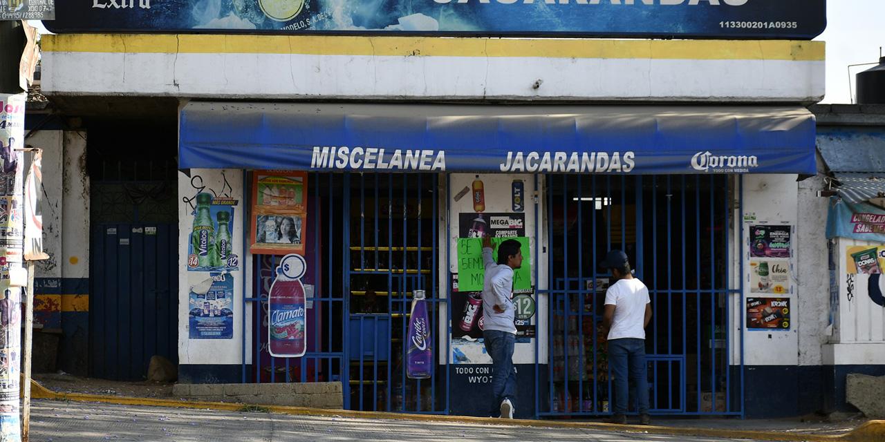 Las misceláneas enfrentan negro panorama por la falta de clientes | El Imparcial de Oaxaca
