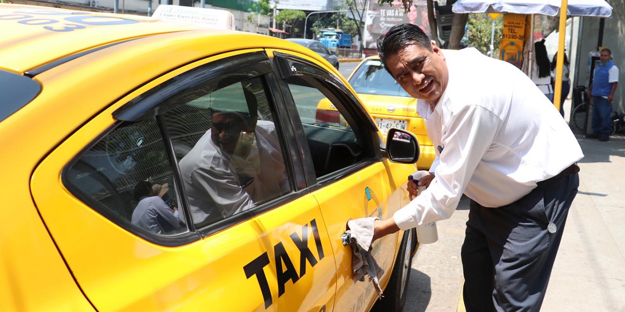 Taxistas de Oaxaca sufren para cumplir la cuota por contingencia | El Imparcial de Oaxaca