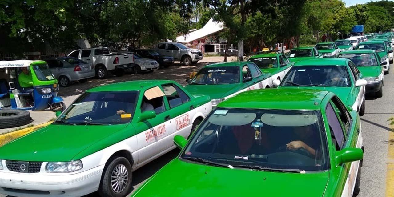 Más de 300 taxis y camionetas de alquiler suspenden labores en el Istmo | El Imparcial de Oaxaca