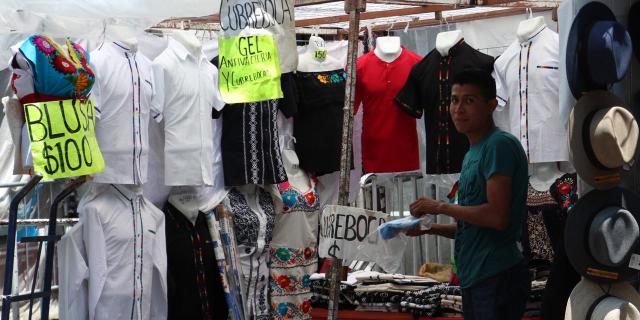 Cubrebocas de vuelta al mercado | El Imparcial de Oaxaca