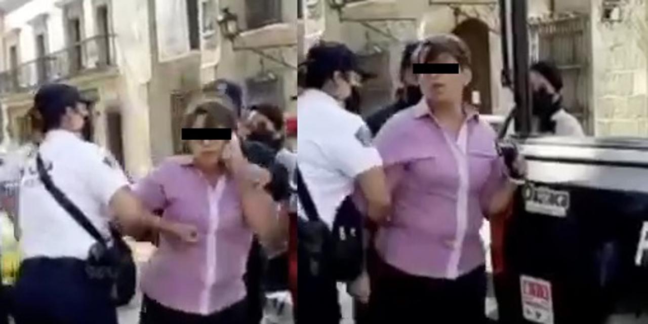 Detienen a mujer por desacato a medidas sanitarias en Oaxaca   El Imparcial de Oaxaca