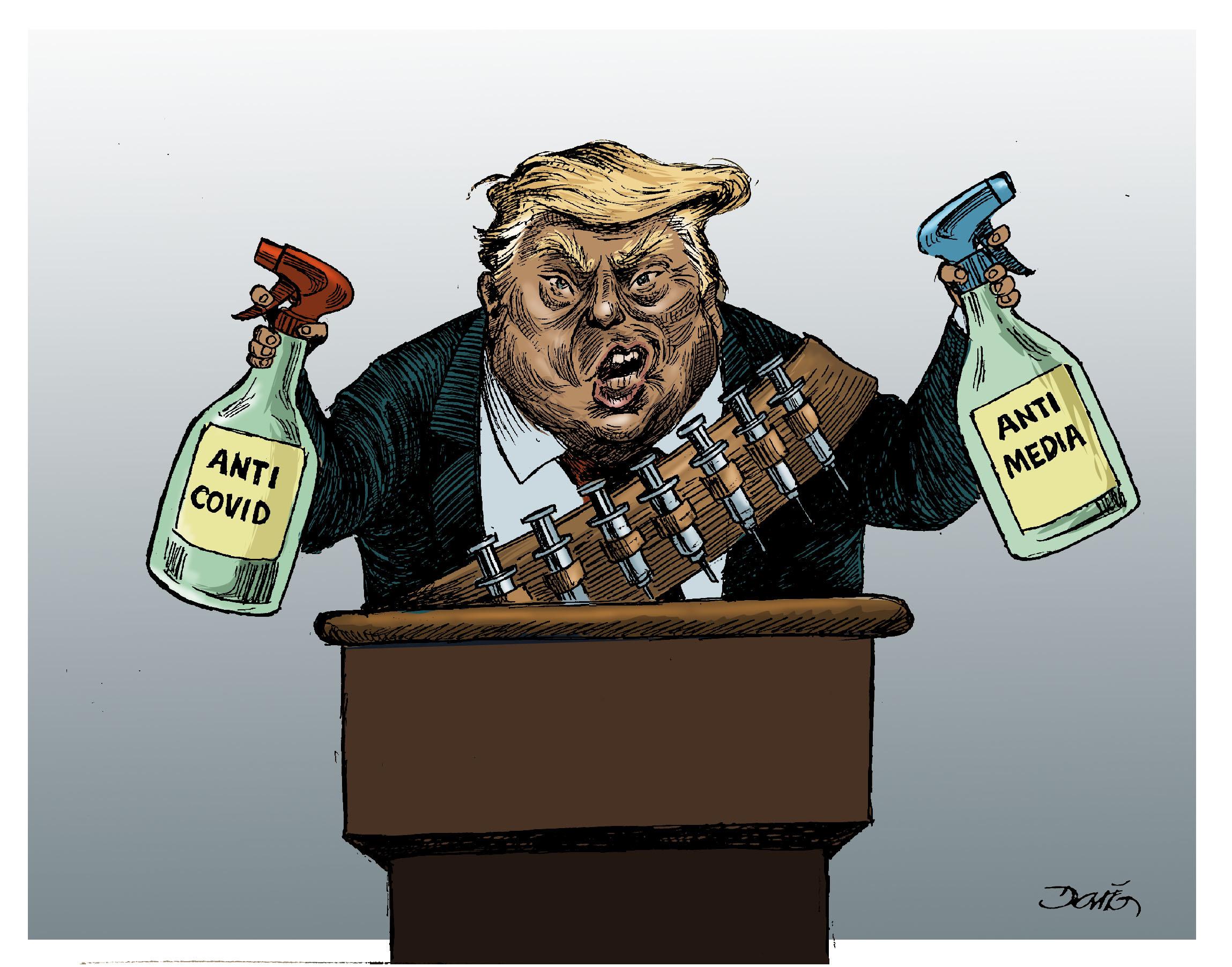 Las armas de Trump   El Imparcial de Oaxaca