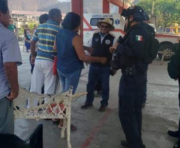 Policía evita linchamiento en Astata