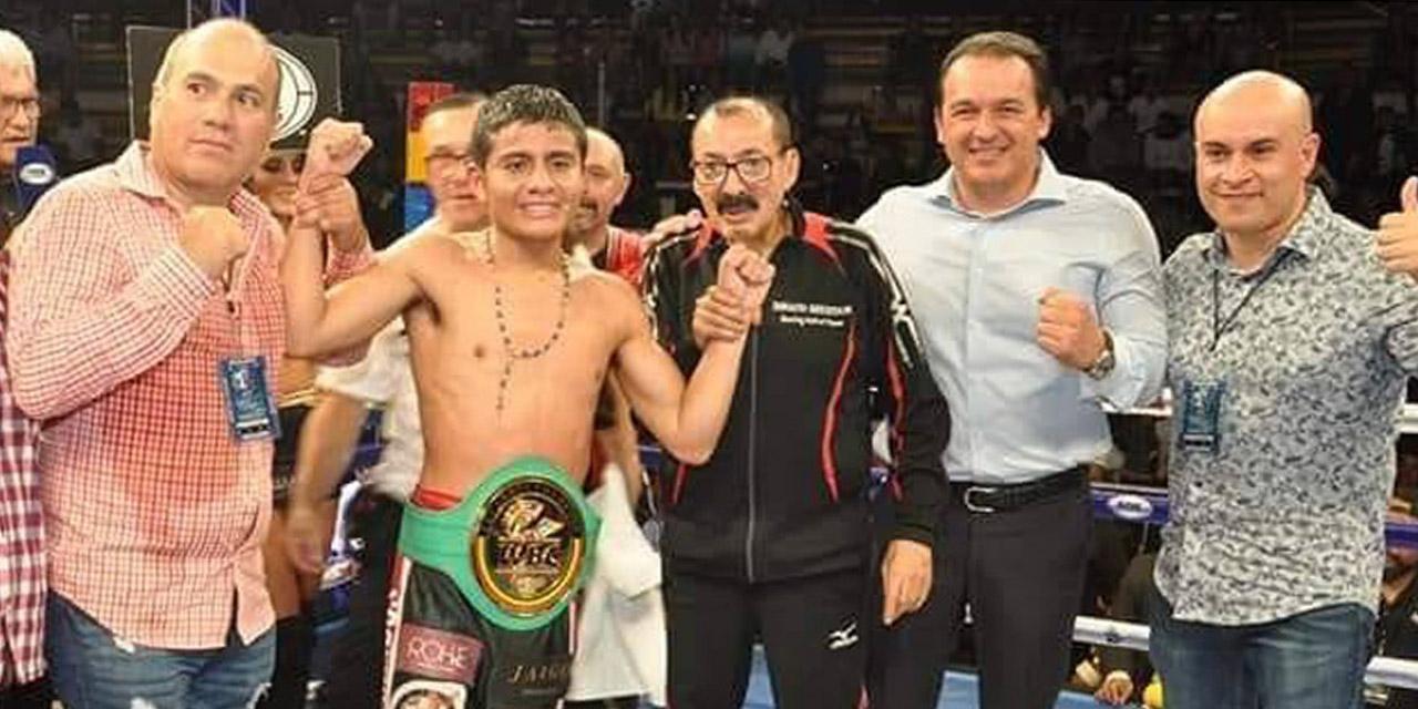 El boxeador Luis Robles no baja la guardia ante el coronavirus | El Imparcial de Oaxaca