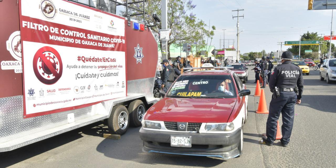 Habrá filtros sanitarios por Covid-19 en Oaxaca   El Imparcial de Oaxaca