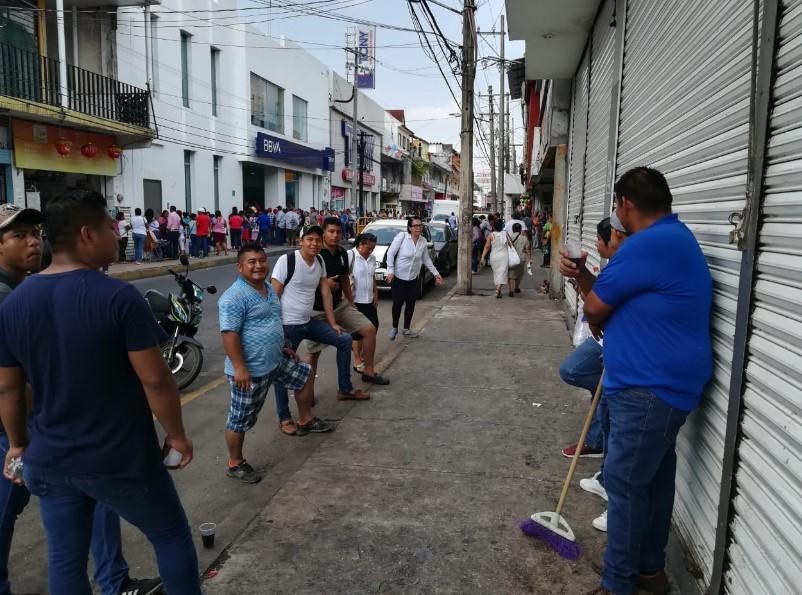 Un día sin vendedores ambulantes se aplica en Tuxtepec