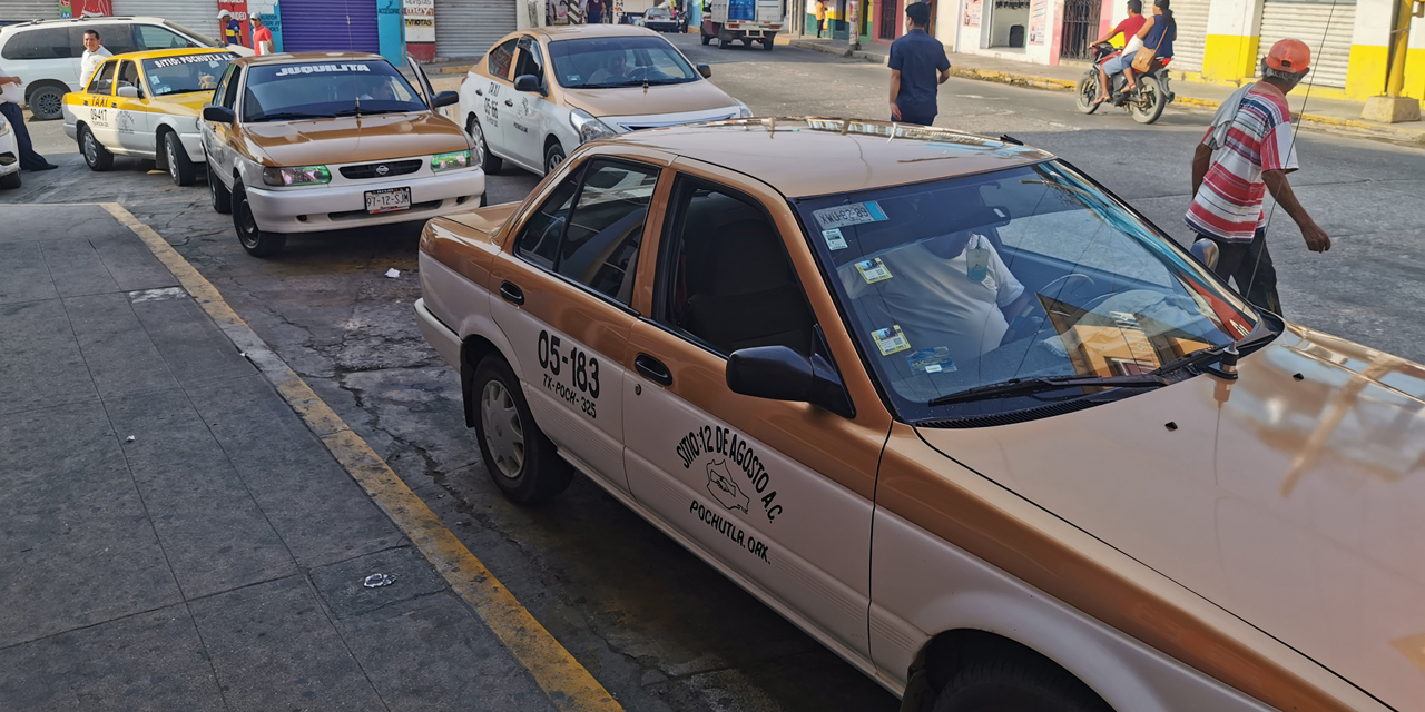 Taxistas de Pochutla piden inclusión en apoyos del gobierno | El Imparcial de Oaxaca
