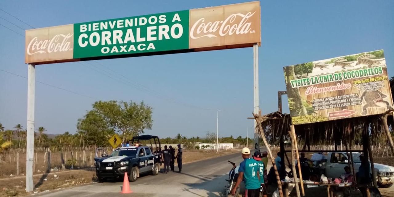 Podrían impedir acceso a pobladores de Corralero por contingencia   El Imparcial de Oaxaca