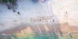 Así lucen las playas de Oaxaca, ante la contingencia sanitaria por el brote por Covid-19