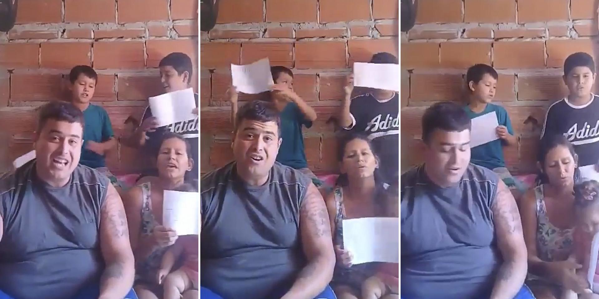 Video: familia compone tierna canción para concientizar sobre cuarentena y se vuelve viral | El Imparcial de Oaxaca