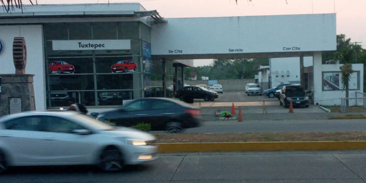 Ejecutado a balazos frente a la VW de Tuxtepec | El Imparcial de Oaxaca