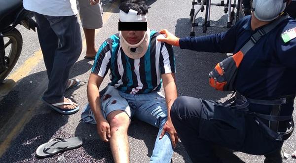 Arrolla a motociclista en Juchitán, trata de escapar, pero lo atrapan | El Imparcial de Oaxaca