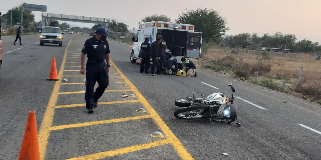 Derrapa pareja en carretera a Ocotlán | El Imparcial de Oaxaca