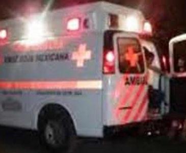 Aparatoso accidente de motociclista ebrio en Huajuapan