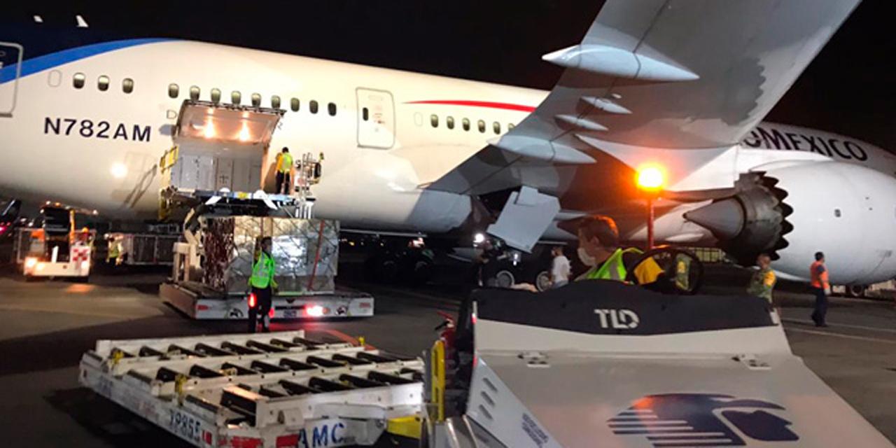 Llega a México cargamento con insumos médicos contra Covid-19 | El Imparcial de Oaxaca