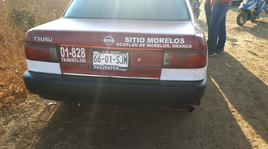 Buscan a taxista que atropelló a una mujer