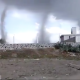 ¡Impresionante! Captan en video 5 tornados en cielo de Puebla