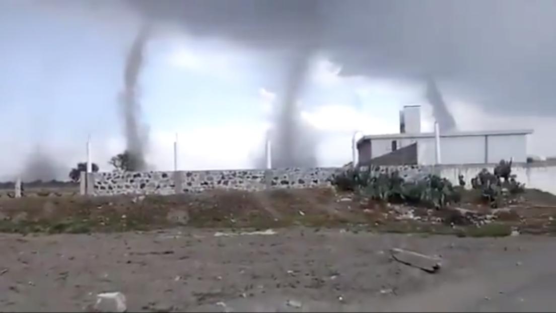 ¡Impresionante! Captan en video 5 tornados en cielo de Puebla | El Imparcial de Oaxaca