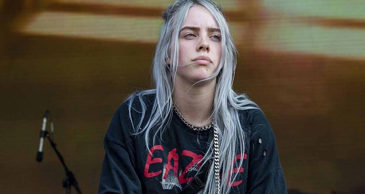 "Billie Eilish se desnuda en un video para protestar contra el ""Body shaming"" 