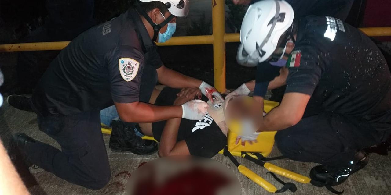Se accidenta pareja de motociclistas en carretera Transístmica | El Imparcial de Oaxaca