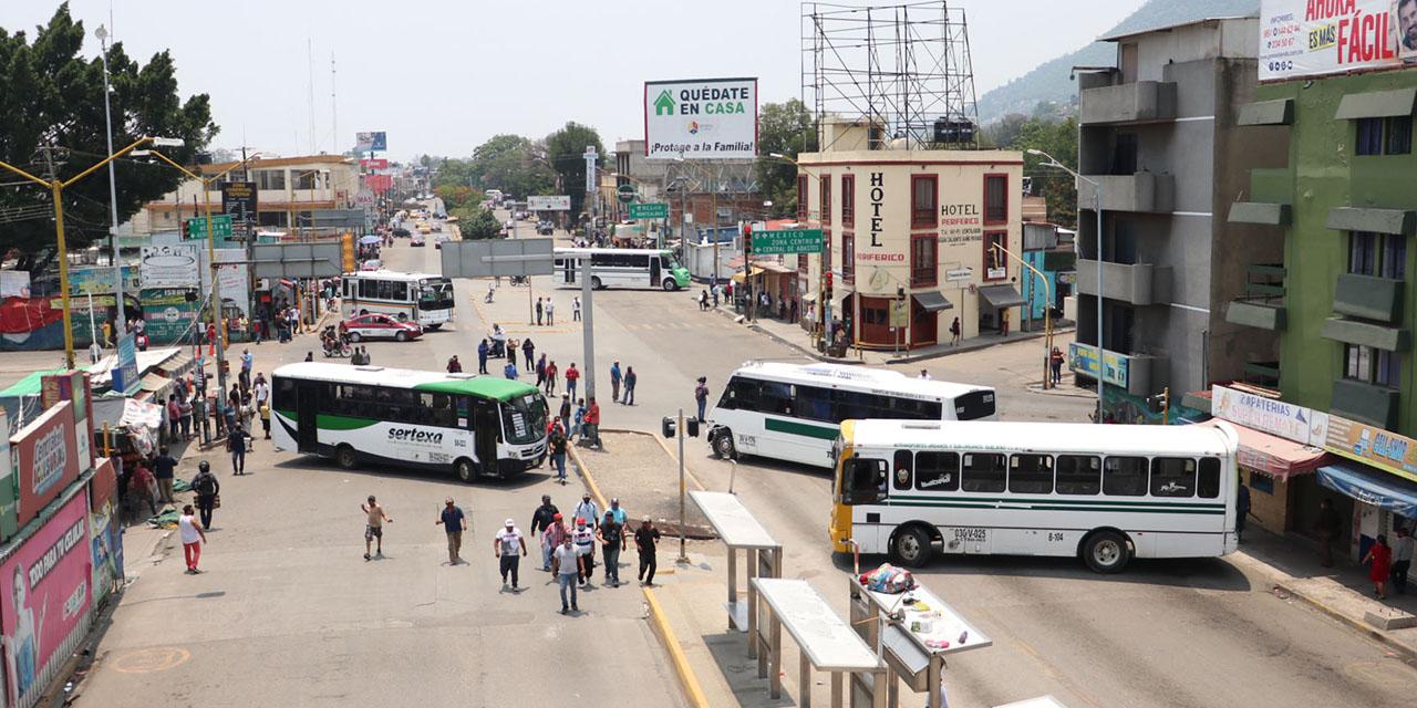 Acude Murat a Central de Abasto   El Imparcial de Oaxaca