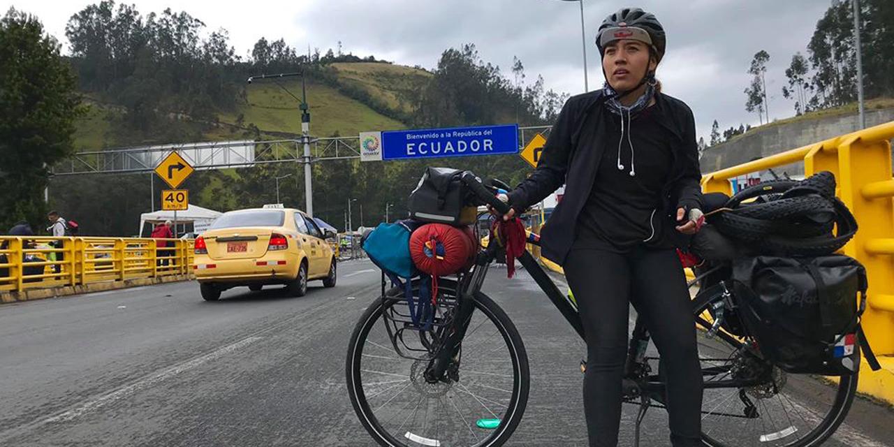 Ciclista oaxaqueña Cris Lares pide apoyo | El Imparcial de Oaxaca