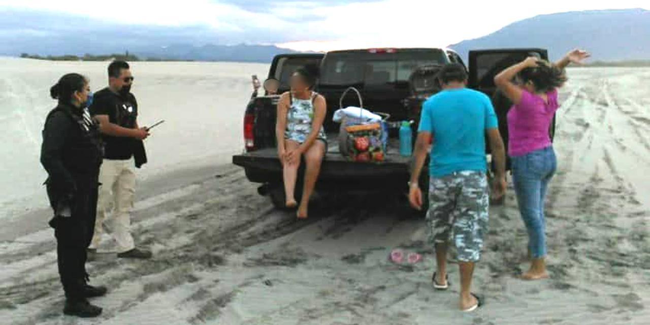 Turistas y familias son desalojadas de playas de Salina Cruz   El Imparcial de Oaxaca